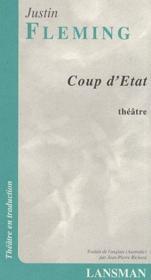 Coup d'état - Couverture - Format classique