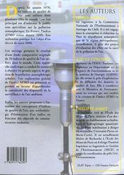 Les Indices De Qualite De L'Air : Elaboration, Usages Et Comparaisons Internat - 4ème de couverture - Format classique