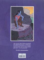 Lilymande T.1 ; Princip'Ile - 4ème de couverture - Format classique