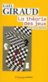 La théorie des jeux - Couverture - Format classique