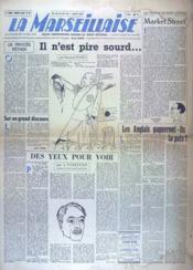 Marseillaise (La) N°49 du 26/07/1945 - Couverture - Format classique