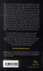 Cézembre noire - 4ème de couverture - Format classique