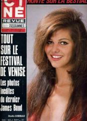 Cine Revue - Tele-Programmes - 51e Annee - N° 36 - Les Diamants Sont Eternels - Couverture - Format classique
