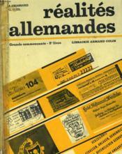Realites Allemandes - Grandes Commercants - 2° Livre - Couverture - Format classique
