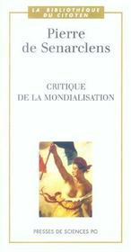 Critique de la mondialisation - Intérieur - Format classique