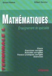 Mathématiques ; enseignement de spécialité ; terminale l - Couverture - Format classique