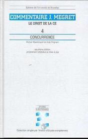 Concurrence - Couverture - Format classique