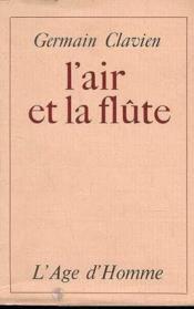 L'Air Et La Flute - Couverture - Format classique