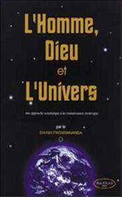 Homme. Dieu Et L'Univers - Couverture - Format classique