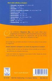 Philosophie terminales series generales et technologiques ; le programme par les grands auteurs - 4ème de couverture - Format classique