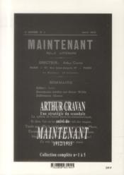 Arthur Cravan ; une stratégie du scandale - 4ème de couverture - Format classique