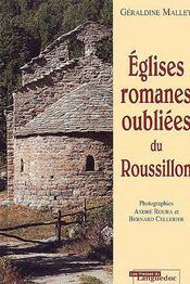 Églises romanes oubliées du roussillon - Couverture - Format classique