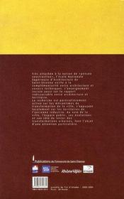 Projets de fin d'études 2003-2004 - 4ème de couverture - Format classique