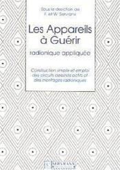 Appareils A Guerir - Couverture - Format classique