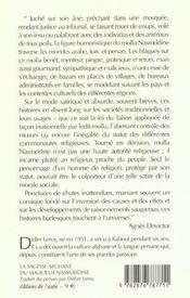 Les Fabuleuses Histoires Du Mollah Nasreddin - 4ème de couverture - Format classique