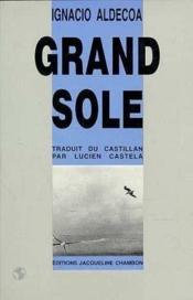 Grand sole - Couverture - Format classique