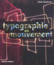Typographie en mouvement - Intérieur - Format classique