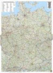 Allemagne Routiere A Plat - Couverture - Format classique