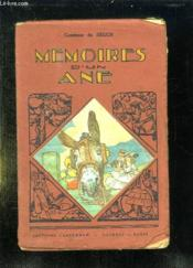 Memoires D Un Ane. - Couverture - Format classique