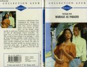 Mariage Au Paradis - One Man One Love - Couverture - Format classique