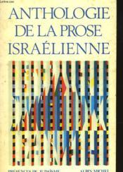 Anthologie De La Prose Israelienne - Couverture - Format classique