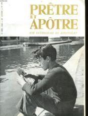 Pretre Et Apotre Vie Interieure Et Apostolat - N°499 - Couverture - Format classique