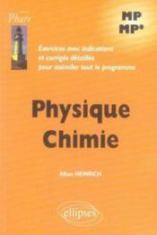 Exercices corrigés physique chimie mp-mp - Couverture - Format classique