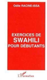 Exercices de Swahili pour débutants - Couverture - Format classique