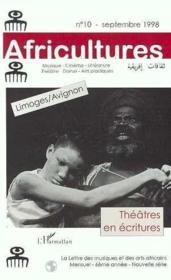 Théâtres en écritures - Couverture - Format classique