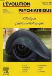 L'Evolution Psychiatrique (200 - Ev061 - Couverture - Format classique
