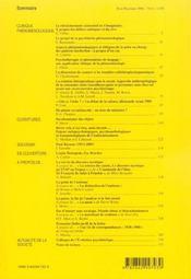 L'Evolution Psychiatrique (200 - Ev061 - 4ème de couverture - Format classique