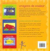 Crayons De Couleur - 4ème de couverture - Format classique