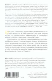 Figura ; la loi juive et la promesse chrétienne - 4ème de couverture - Format classique