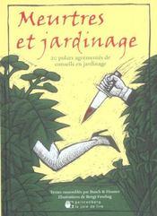 Meurtres Et Jardinage - Intérieur - Format classique
