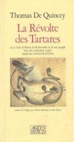 La revolte des tartares ou la fuite du khan des kalmouks - Couverture - Format classique