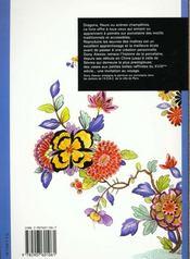 Motifs Sur Porcelaine - 4ème de couverture - Format classique