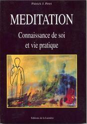 Meditation Connaissance De Soi Et Vie Pratique - Intérieur - Format classique