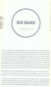 Big bang - 4ème de couverture - Format classique