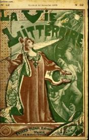 La Boule Noire. 2eme Partie Et Fin . La Vie Litteraire. - Couverture - Format classique