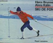 Ski De Fond - Randonnee Et Competition - Couverture - Format classique