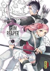 Vente livre :  The grim reaper and an argent cavalier T.5  - Irono