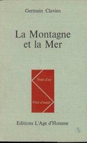 La Montagne Et La Mer - Couverture - Format classique