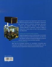Petits aquariums récifaux - 4ème de couverture - Format classique