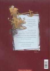 La Chute Du Dragon Noir T.1 ; Nadir - 4ème de couverture - Format classique
