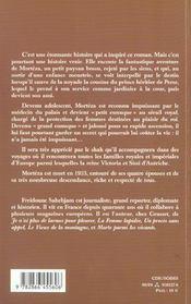 Le Dernier Grand Eunuque - 4ème de couverture - Format classique
