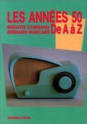 Les annees 1950 de a a z - Couverture - Format classique