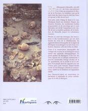 Martigues, terre gauloise - 4ème de couverture - Format classique