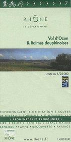 Val d'Ozon & Balmes dauphinoises - Couverture - Format classique