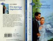 Un Mariage Imprevisible - This Man And This Woman - Couverture - Format classique