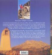 Les couleurs de la Provence ; les Bouches-du-Rhône - 4ème de couverture - Format classique